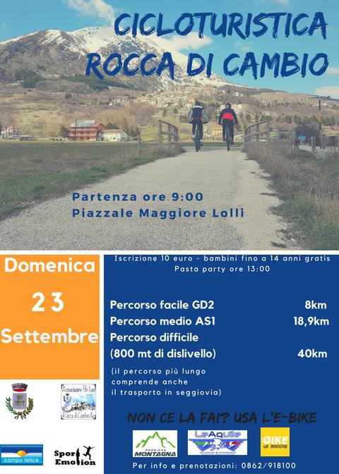 1 Cicloturistica di Rocca di Cambio