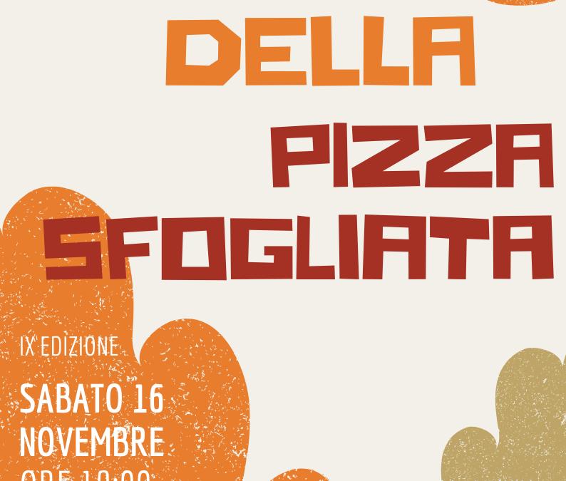FESTA DELLA PIZZA SFOGLIATA – 16 NOVEMBRE 2019
